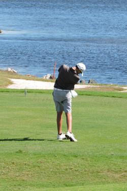 Aaron Jarvis  - 18th hole