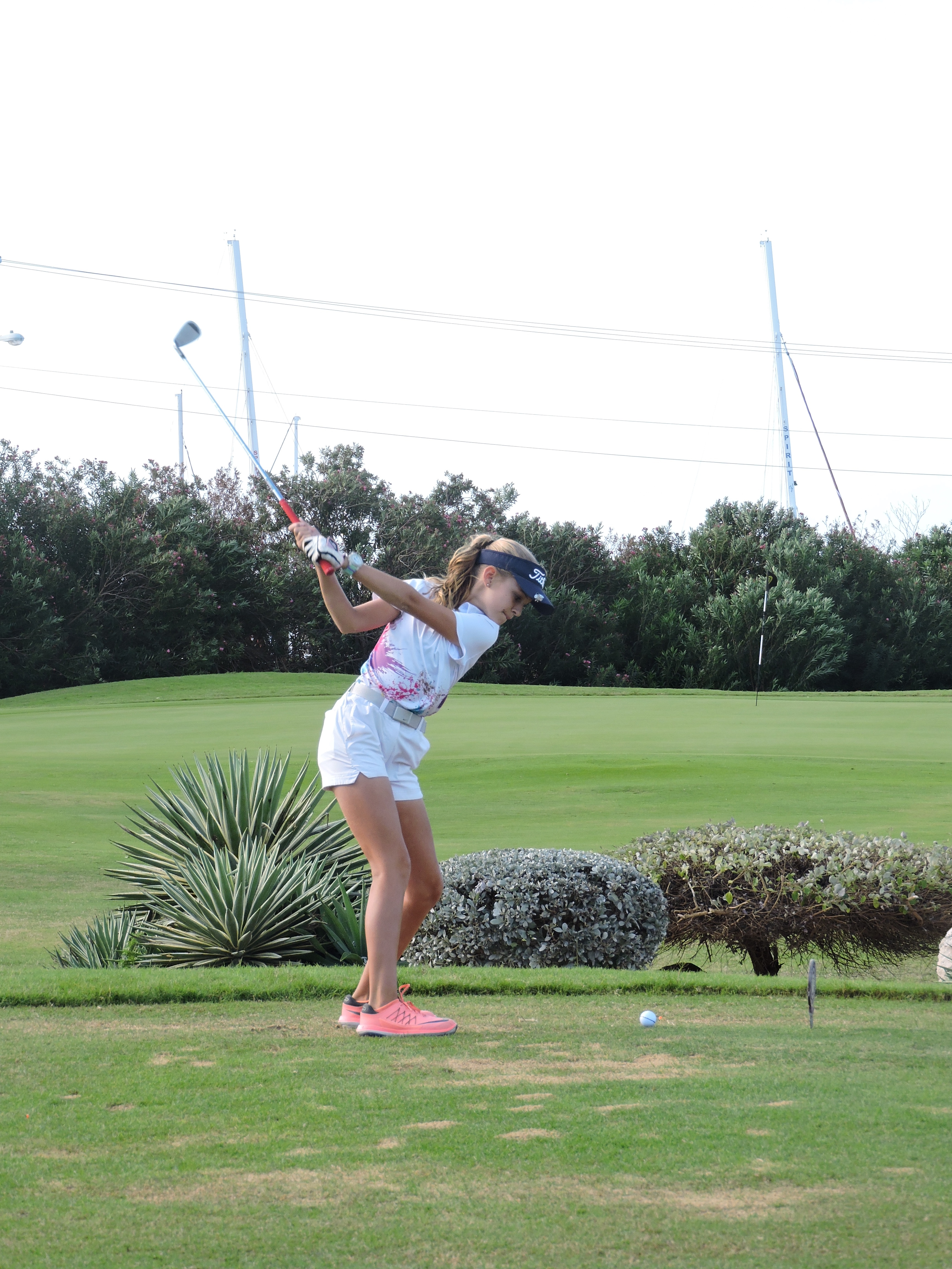 Holly Mclean- 1st hole