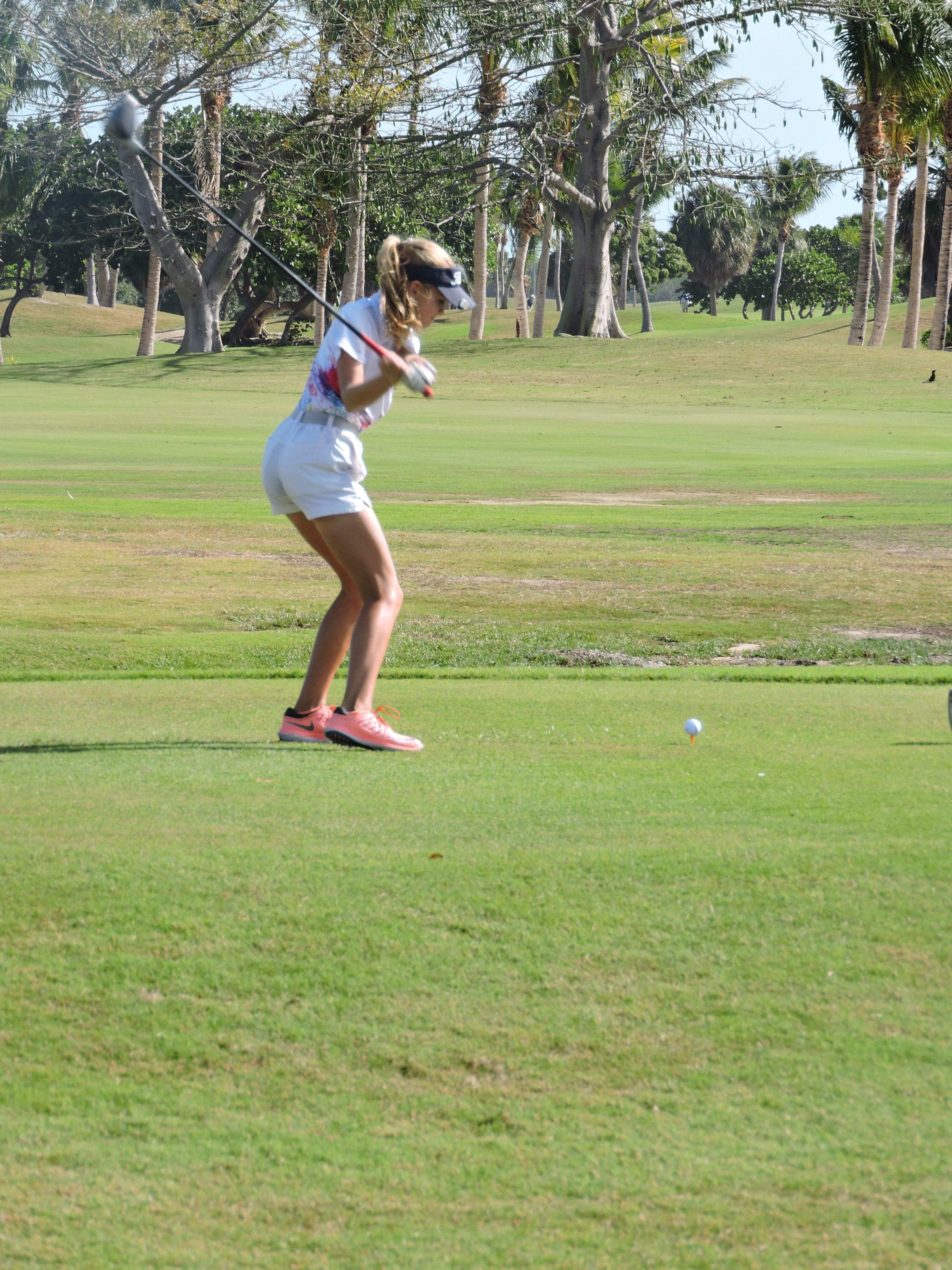 Holly Mclean - 4th hole
