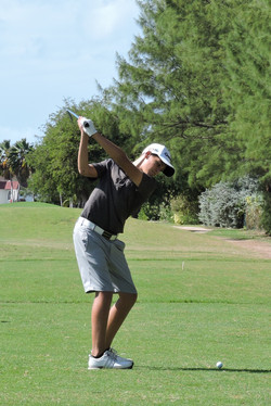 Aaron Jarvis - 15th hole