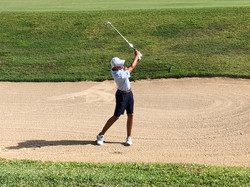 RD 4 CAGA - Aaron out of Hole 11 bunker.