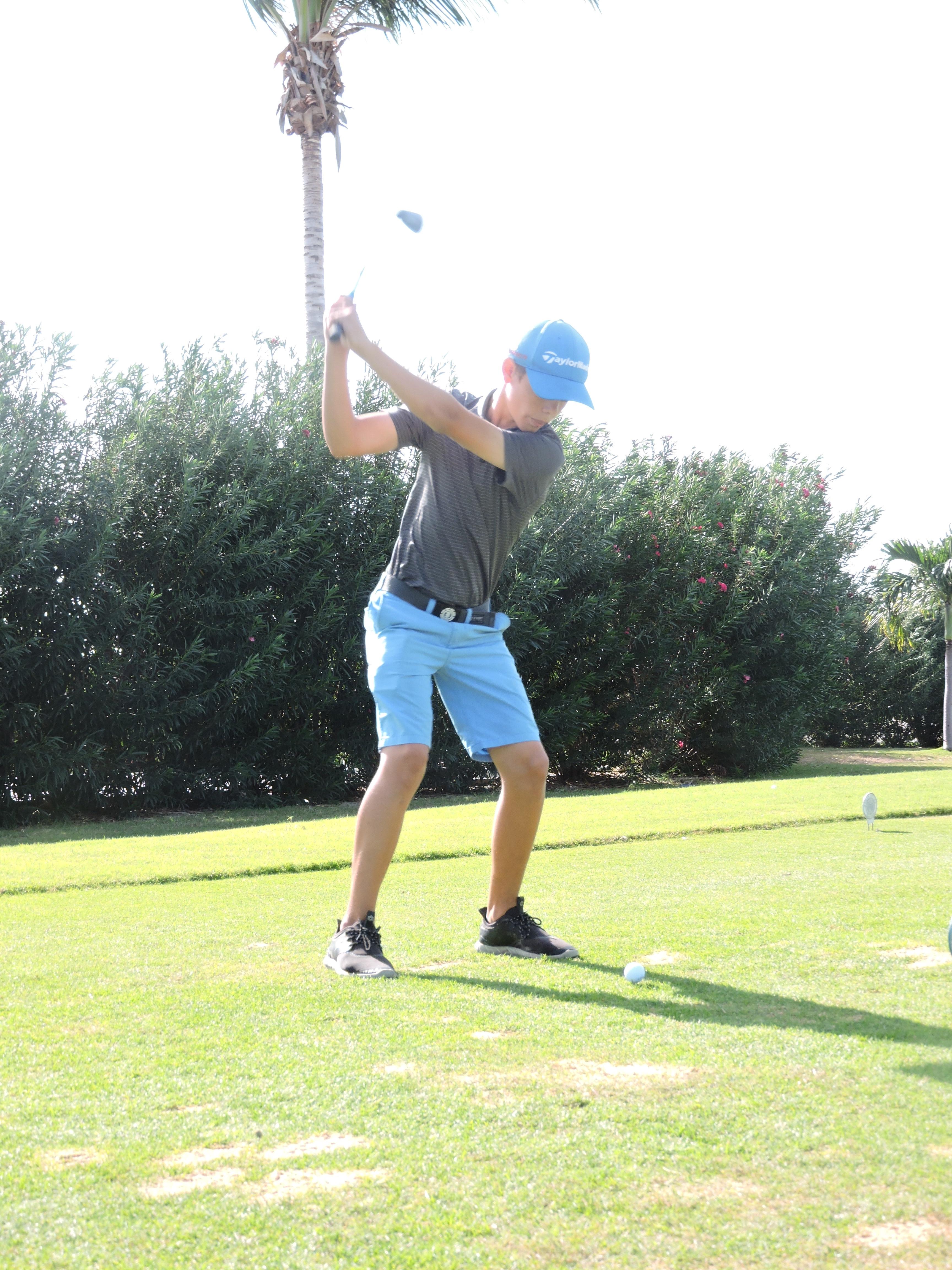 Derek Peene - 1st hole