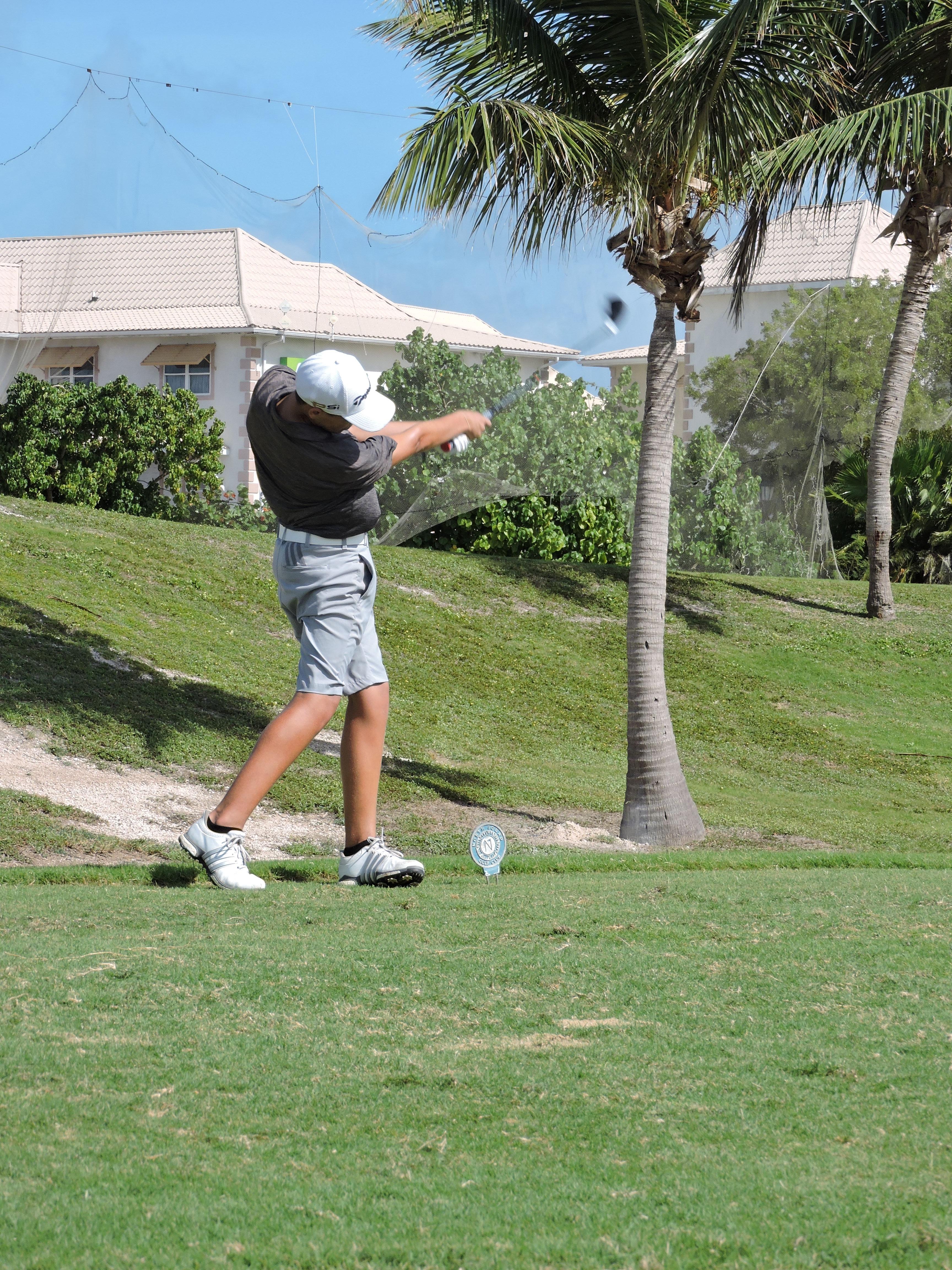 Aaron Jarvis - 11th hole