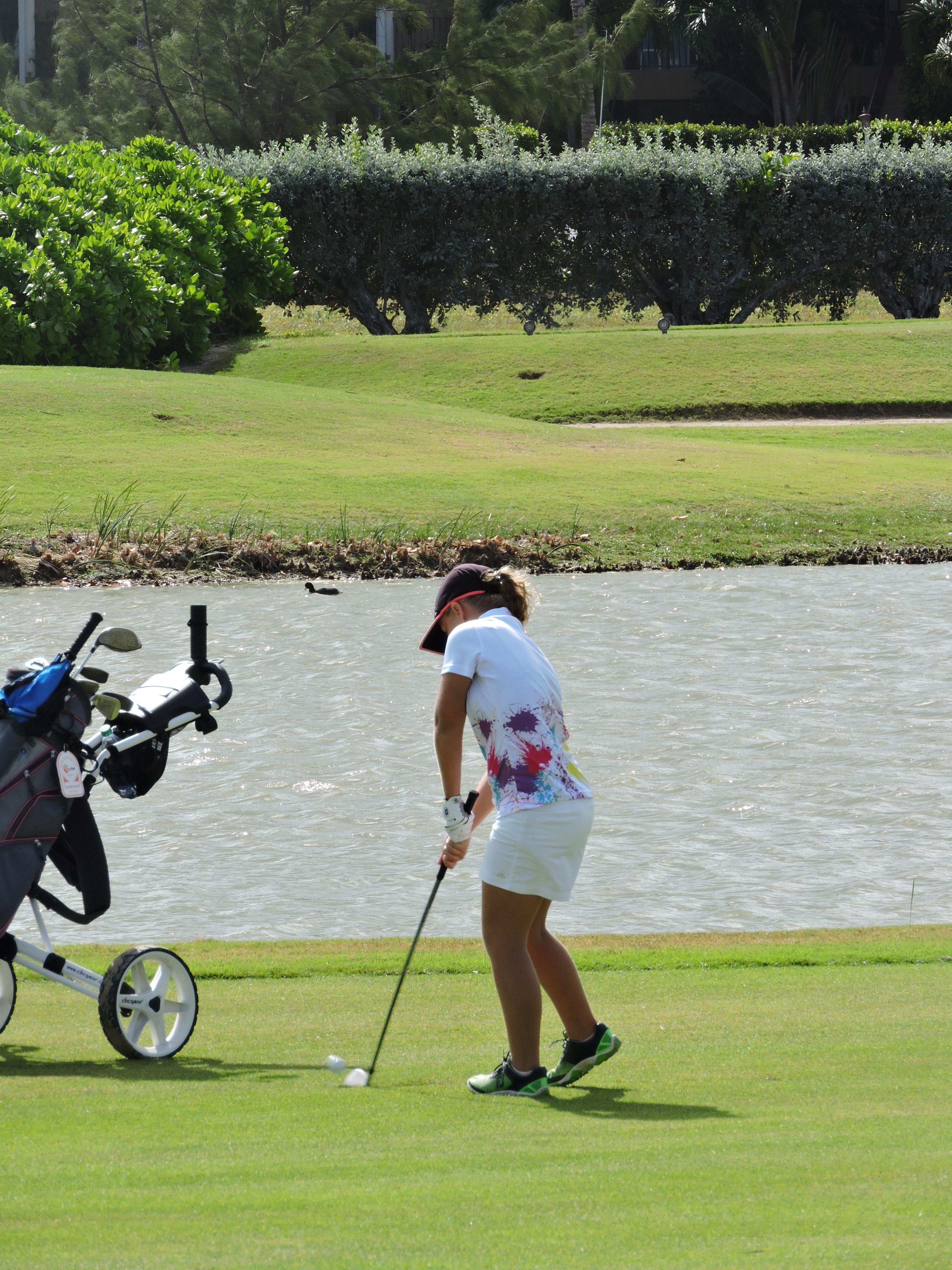 Lauren Needham - 4th hole