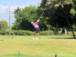 RD 2 CAGA Andrew Tee off