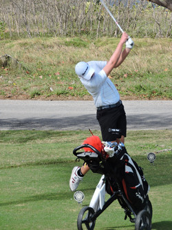 Joe Purton - 5th hole
