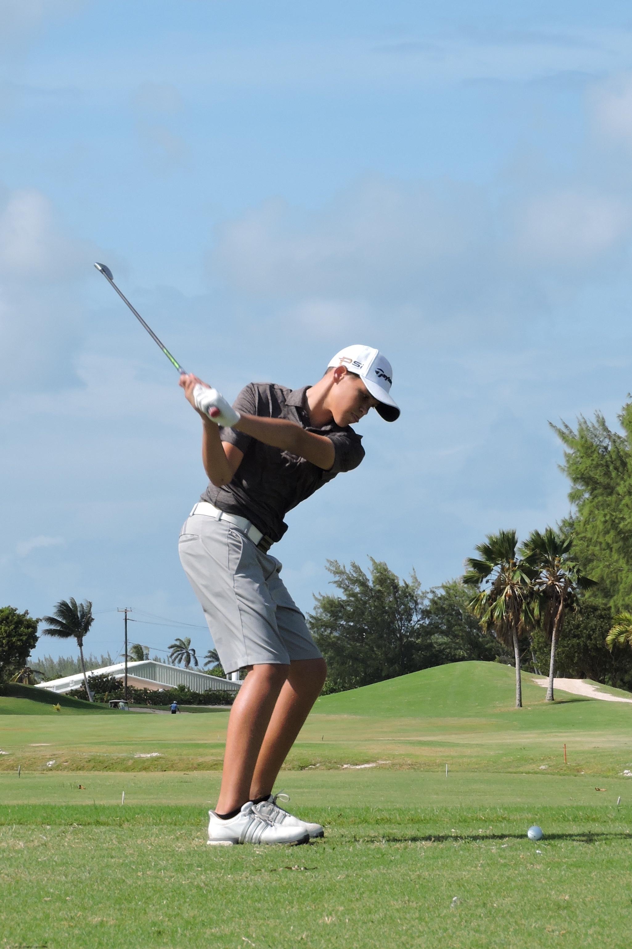 Aaron Jarvis  - 12th hole