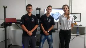 Medição do cabeçote do motor - Equipe Fórmula Route UFSCar