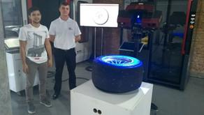 Medição de Rodas Fórmula 3 - Trabalho de TCC