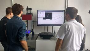 Medição de componentes para dimensionamento - Equipe Ampera Racing