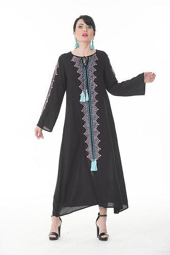 Elegant Embroidered Kaftan