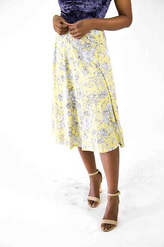 Gypsy Printed Skirt