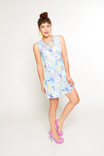 Mixed Printed Sunshine Dress