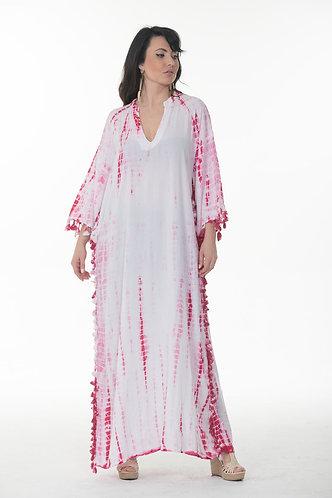 Classy Tie-Dye Print Kaftan