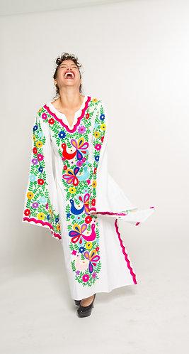 Intense Embroidery Dress