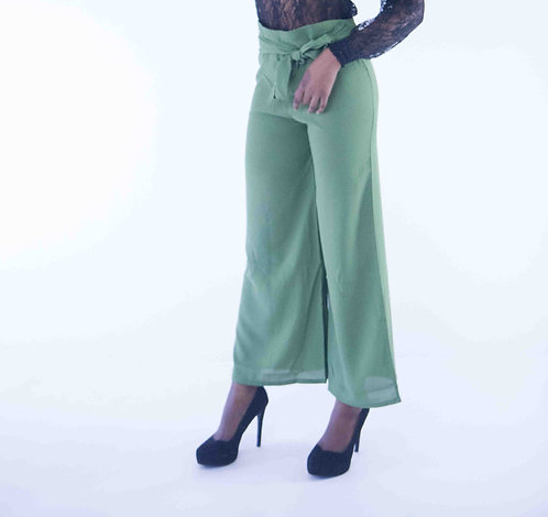 Front Tie-up Culottes