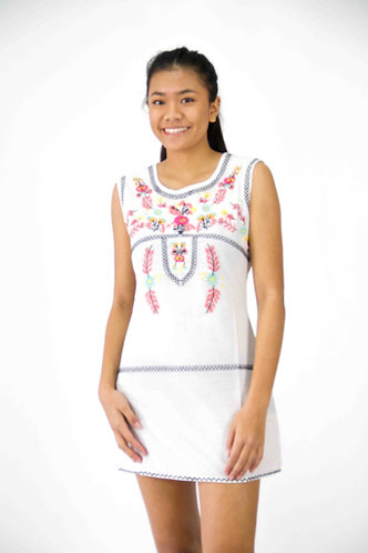 Cotton Embroidery Dress