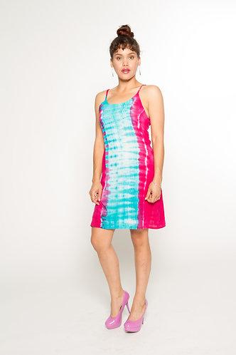 Tie-Dye Spaghetti Dress