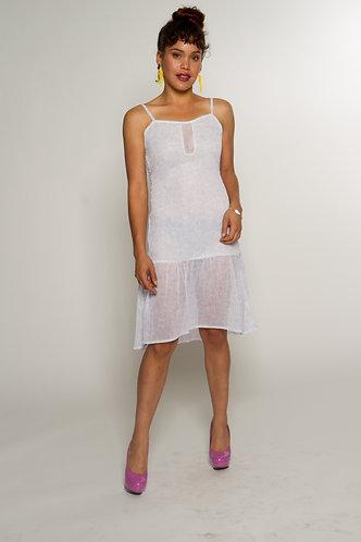 Swirl Chiffon Dress