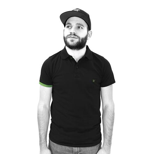 Polo - Noir/Vert