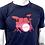 "Thumbnail: T-shirt bleu marine - ""The"""