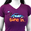 """Thumbnail: T-shirt violet - """"Tune in"""""""