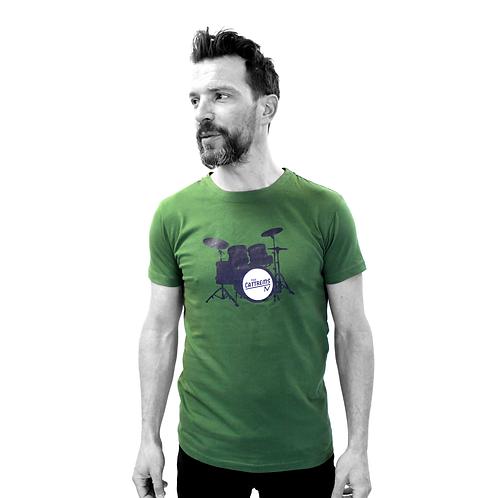 """T-shirt vert - """"The"""""""