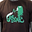 "Thumbnail: T-shirt brun - ""Get some"""