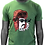"Thumbnail: T-shirt vert - ""Moustache"""