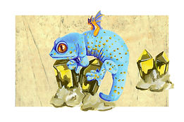 November - Tokay Gecko - Topaz
