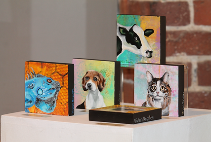 Variety of Acrylic Paintings