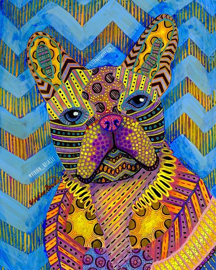 Psychedelic Bulldog