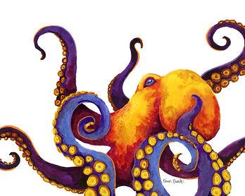 Fiery Octopus