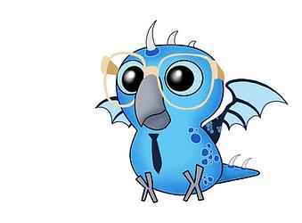 Nerdy Birdy Dragon