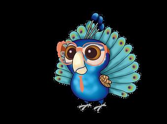 Nerdy Birdy Peacock