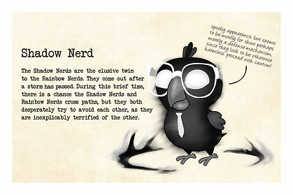 Original Character: Nerdy Birdy Shadow (Back)