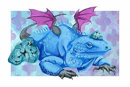 December - Blue Iguana - Turquoise