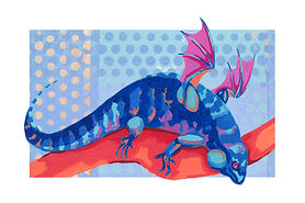 Lounging Dragon (Tegu)
