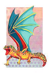 Fierce Dragon (Leopard Gecko)