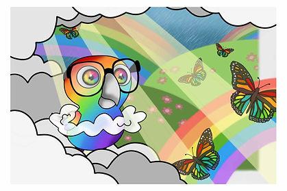 Original Character: Nerdy Birdy Rainbow