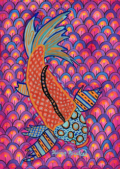 Pyschedelic Fish