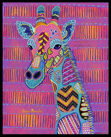 Psychedelic Giraffe
