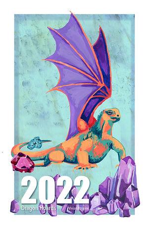2022 Dragon Hoards Calendar Cover