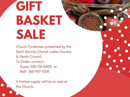 Gift Basket Fundraiser
