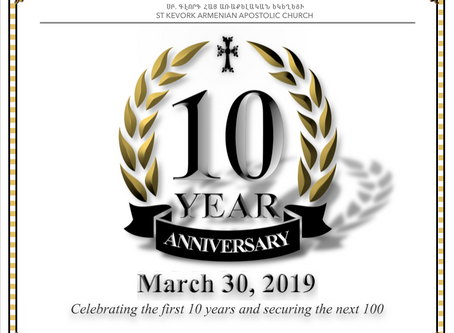 10 Year Anniversary Celebration