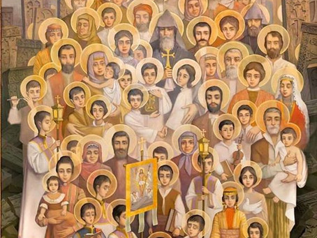Live Stream Service in Commemoration of the Holy Martyrs of the Armenian Genocide (Facebook at 7pm)
