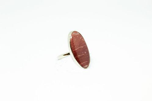 Кольцо яшма