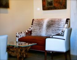 Custom-Built Cow Hide Sofas