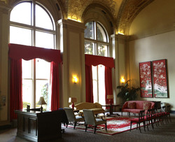 Lobby Draperies and Cornices