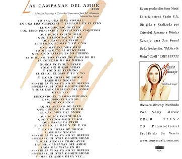 1997LascampanasdelamorMexicoPromoCDcontr
